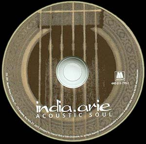 India.Arie's CD art, released March 27, 2001